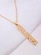 Creative English Version Twelve Constellation Necklace Women Clavicle Chain - Taurus