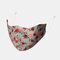 Multicolor Cotton Floral Mask Vintage Print Face Mask - #03
