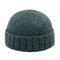 الرجال النساء رواج الصوف حك بريمال كاب قبعة الجمجمة البرية دافئة توالت كاب دون حافة