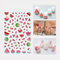 3D Colorful Nail Sticker Fruit Rainbow Series Simple Lovely Decoration Manicure Sticker - 4