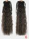 10 цветов конский хвост Волосы удлинительный галстук Веревка кукурузная пермская коса длинный вьющийся хвост - #05