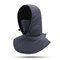 Women Winter Warm Casual Hat Outdoor Riding Ear Protection Thick Windproof Ski Facemask Hat - Deep gray