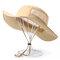 Мужские женские На открытом воздухе Водонепроницаемы Quick-dry Шапка Повседневные козырьки Дышащая кепка Регулируемый ремешок для подбородка