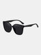 Unisex Wide Frame Fashion Outdoor Cool UV Protection Sunglasses - Black