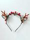 12 Pcs Accessoires De Cheveux De Noël Enfants Oreilles De Chat Mignon Bandeau De Coiffure Elk - #02