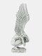 1 PC Resin Vintage Hold Legs Angel Memorial Redemption Statue Handicraft Angel Wings Sculpture Outdoor Garden Figurine Crafts Decoration - #01
