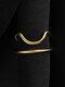 Elegant Opening Diamond Nail Ring Tail Ring - #07