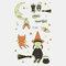 Halloween Luminous Tattoo Children Cartoon Stickers Body Art Waterproof Fake Temporary Tattoo Transfer Paper - 23