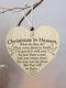 Placa de madeira para presente pendurada com chip de Natal de madeira Pingente Coração Decoração de garrafa de vinho em forma de etiquetas para casa - #03