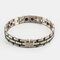 12mm Men Stainless Steel Chain Bracelet 4 In 1 Energy Magnet Bangle Health Care Jewelry Gift - #05