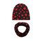 Cool Boy Print Sombrero Set de bufanda para 0-4 años - 1