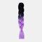 HalloweenColored Gradient Dirty Braids High Temperature Fiber Big Braids Ponytail Hair Extensions - 58