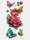 40 piezas 3D estéreo Impermeable tatuajes pegatinas escorpión flor transferencia de agua tatuaje pegatinas - 12