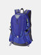 Men Oxford Cloth Waterproof Large Capacity Outdoor Climbing Travel Backpack - Blue1