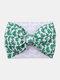 Irish Festival Clover Printed Twill Bubble Headband Adjustable Parent-child Hair Accessories Headband - #04