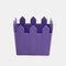 Maceta de madera para flores, decoración de jardinería, maceta para plantas suculentas  - púrpura