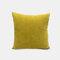 Couleur unie oreiller coussin salon canapé coussin plaine moderne minimaliste chevet taille taie d'oreiller - Jaune