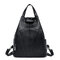Women Soft PU Leather Crossbody Bag Multi-function Backpack