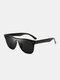 ユニセックスPCフルフレームUV保護サンシェードアウトドアファッションサングラス - #01