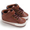 Baby Toddler Shoes Non Slip Soft Hook Loop Casual Shoes - Brown
