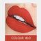 2 In 1 matten Lippenstift Lipgloss Double-Headed Design Wasserdicht Soft Smooth Cosmetic Lip Makeup - #10