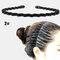 スポーツスタイル男性女性ヘッドバンドヘアピンフェイスウォッシュバックプレッシャーヘアノンハートヘアヘアアクセサリー - 2