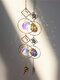 1 PC Sun Catcher Crystal Chandelier Ornament Aurora Wind Chimes with Prismatic Pendant Elegant Rainbow Maker Home Decor - #01