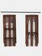 1Pc 5 Pocket Hanging Handbag Organizer für Kleiderschrank Transparente Aufbewahrungstasche Türwand Klar Diverse Schuhtasche Mit Kleiderbügel-Tasche - Kaffee