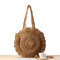 Straw Hollow Out Round Bag Shoulder Bag For Women