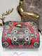 Women Ethnic Print Crossbody Bag Handbag - #03