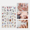 3D Colorful Nail Sticker Fruit Rainbow Series Simple Lovely Decoration Manicure Sticker - 10