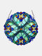 1 PC Hand-made Color Baffle Decorative Plant Modeling Pastoral Window Pendant Gift Jewelry - #01