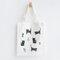 Cute Cat Prints Canvas Shoulder Bag Casual Bag - #09