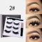 3D False Eyelashes Set Magnetic Eyeliner Liquid Natural Magnet Eyelashes Eye Makeup Eye Cosmetics - 02