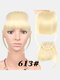 Air Bangs Wig Piece Chemical Fiber No-Trace Seamless Bangs Hair Extensions - #09