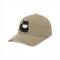 Collrown Cartoon Cat Mask Isolated Hat Cotton Quarantined Bucket Hat - Khaki