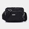 Women Waterproof Solid Shoulder Bag - #02