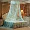 Techo Dome Toldo grande para cama con mosquitero Máxima protección contra insectos Sin irritación de la piel - azul