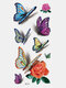 40 piezas 3D estéreo Impermeable tatuajes pegatinas escorpión flor transferencia de agua tatuaje pegatinas - 02
