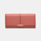 Women Hollow Out Multifunctional Multi-card Slots Photo Card Phone Bag Money Clip Wallet Purse - #01