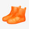 Unisex Waterproof Reusable Outdoor Boots Covers High Top Non Slip Foot Cover Protect - Orange