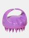 Hair Scalp Massager Shampoo Brushes Remove Dandruff Promote Hair Growth Shampoo Brush - Purple