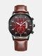 Alloy Business Casual Sports Belt Watch Quartz Watch For Men - #08