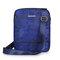 Women Nylon Crossbody Bag Lightweight Shoulder Bag  - Blue