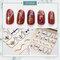 DIY Manicure Nail Sticker 3D Waterproof Butterfly Fruit Laser Nail Applique Decoration - 2
