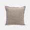 Solid Color Sofa Pillowcase Polyester Linen Creative Car Cushion Room Living Room Pillow - Grey1