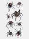40 piezas 3D estéreo Impermeable tatuajes pegatinas escorpión flor transferencia de agua tatuaje pegatinas - 04