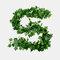 装飾的な花と花輪人工のアイビーリーフガーランド植物つる偽の紅葉花家の装飾 - 8