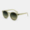 Women Casual Brief Full Frame Round Shape UV Protection Sunglasses - #02