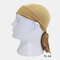 Quick-drying Turban Perspiration Breathable Sunscreen Outdoor Riding Pirate Hat - Coffee